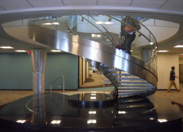 Stainless Steel Helical Stair