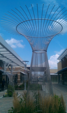 Stainless Steel Vine Cages