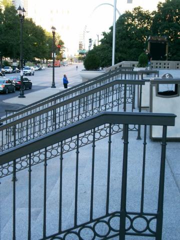 Painted Steel Handrails