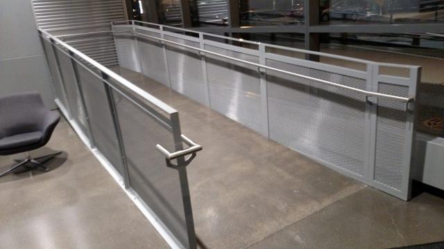 Steel Mesh Railings