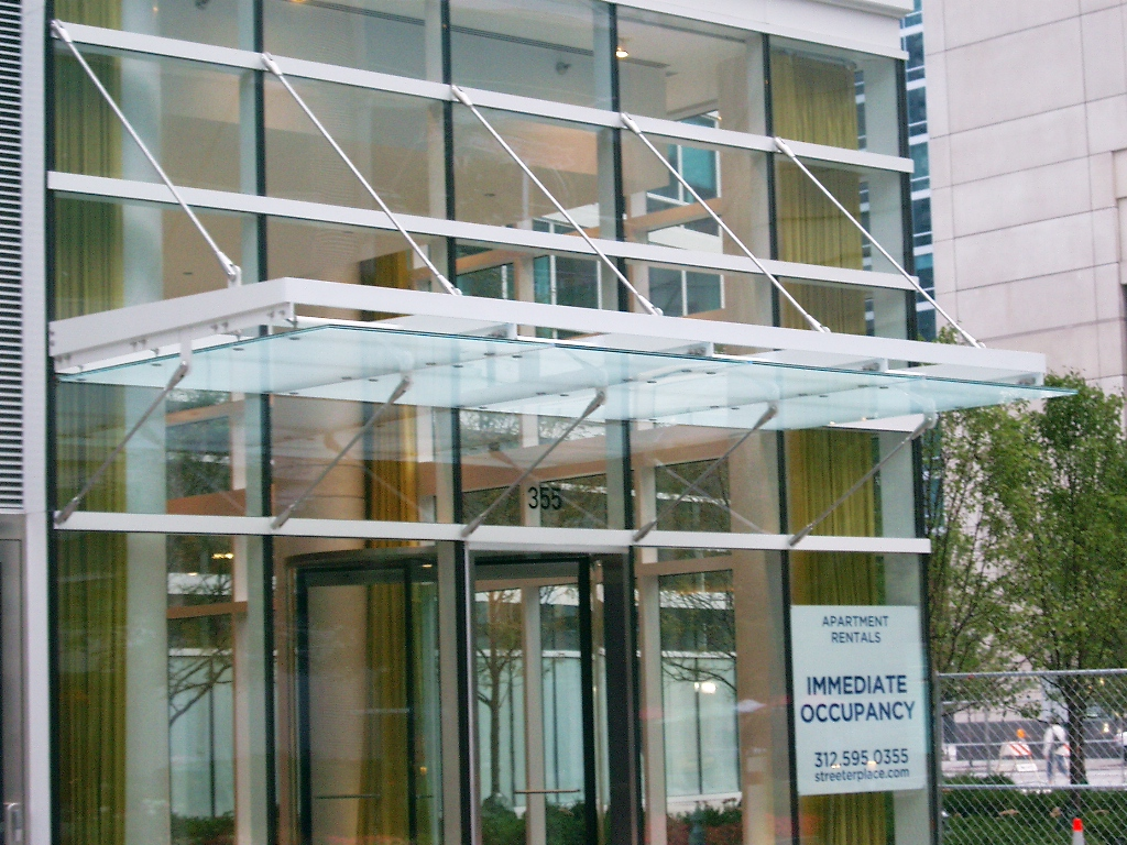 Steel and Glass Canopy