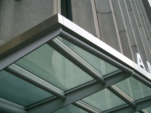 Stainless Steel Canopy Cladding