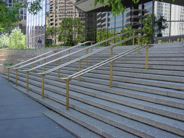 Bronze Handrails
