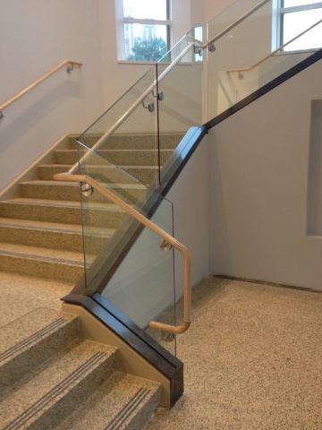Glass Guard Rails