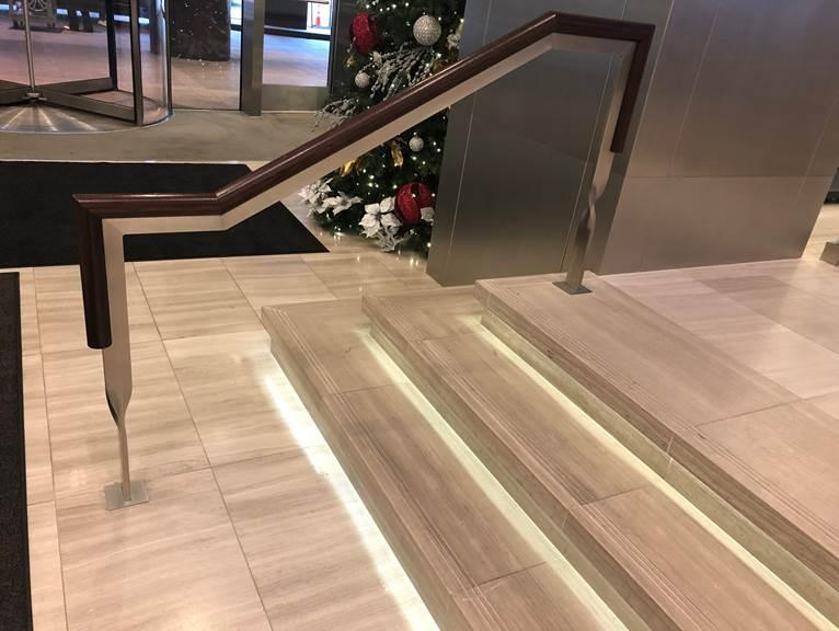 Unique Twisted Stainless Steel Handrail